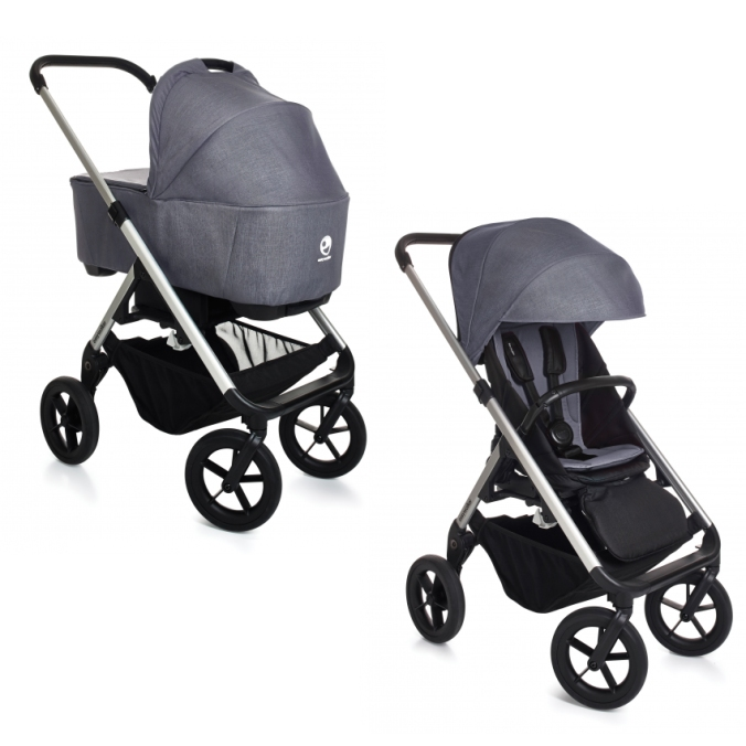 easywalker+mosey+complete+silver+chassis+berlin+grey